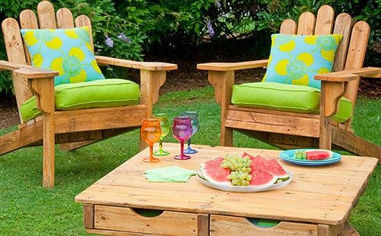 gartenmöbel aus paletten selber bauen bastelideen tisch aus paletten