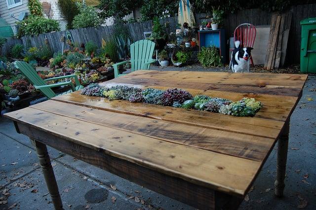 gartenmöbel aus paletten selber bauen tisch aus paletten diy ideen