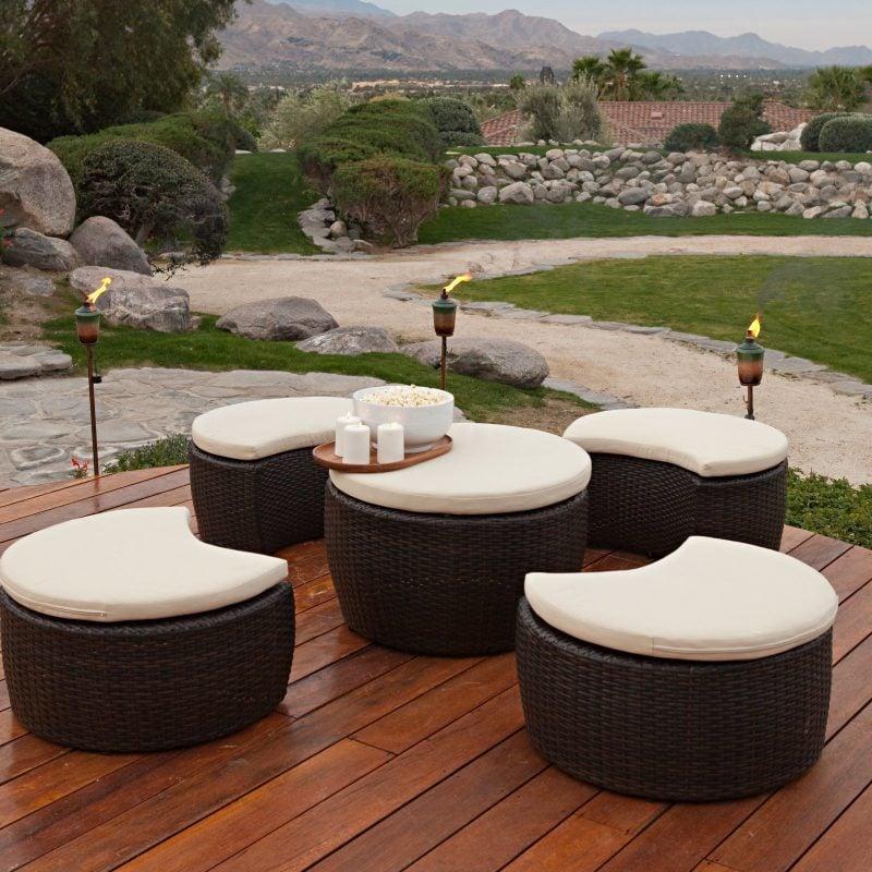 Setzen Sie auf hochwertige Gartenmöbel!