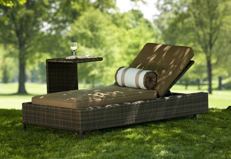 Hochwertige Gartenmöbel: Gemütlich auf der Gartenliege den Tag verbringen!