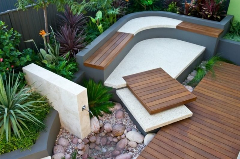 Gartengestaltung Ideen Sitzecke