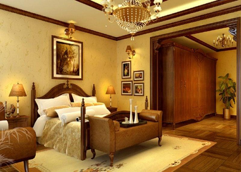 Schlafzimmer einrichten Landhausstil herrlicher Look