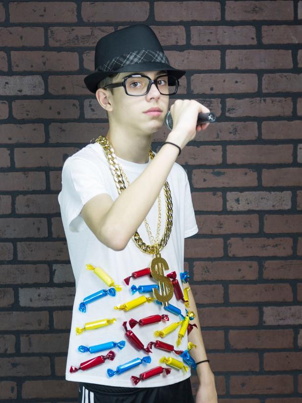 hip hop rapper kostüm coole faschingskostüme accessoires verkleidung