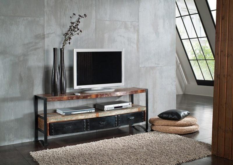 Tv möbel industrial design  Einzigartige Industrial Möbel - Möbel - ZENIDEEN