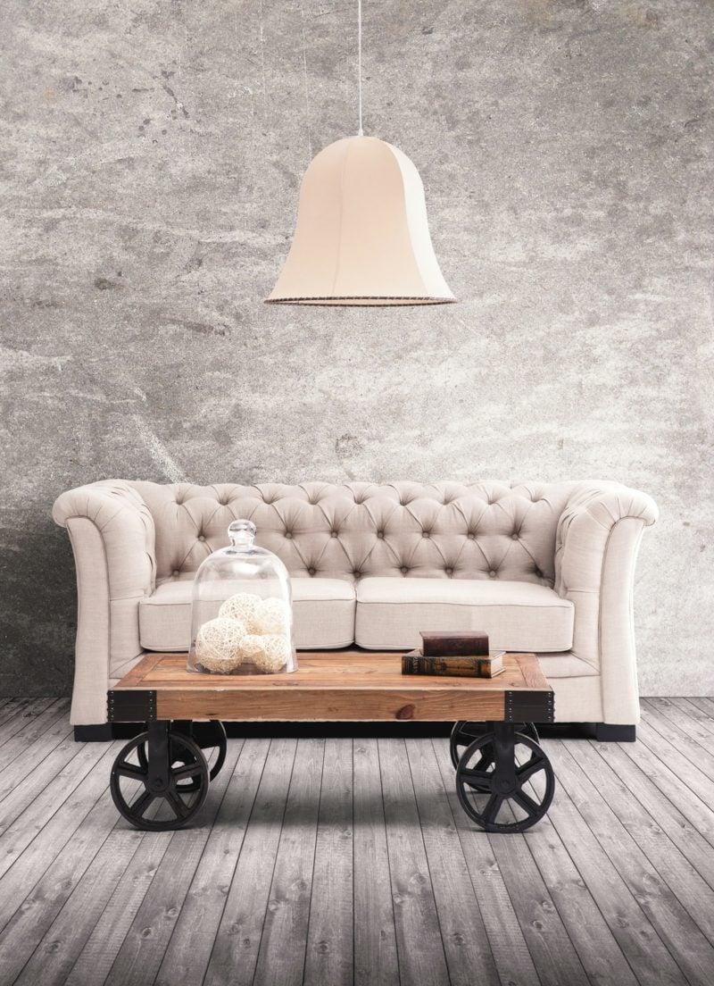 industrial möbel couch tisch