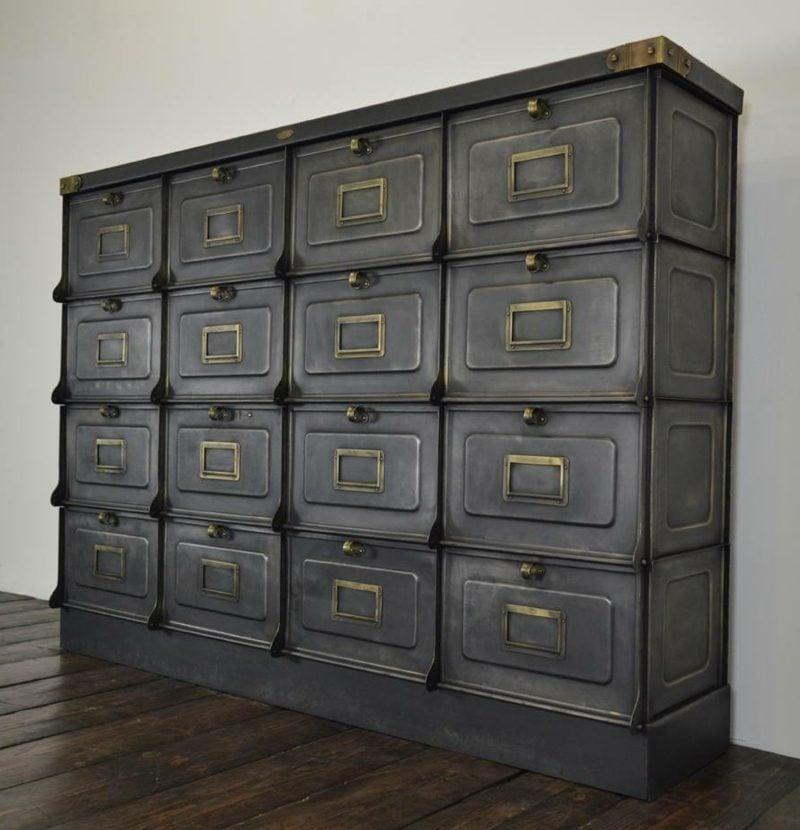 industrial möbel industrial locker cabinet from strafor