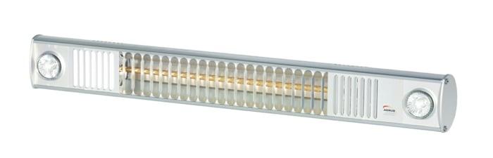 infrarot terrassenheizer weiß beleuchtung heizstrahler