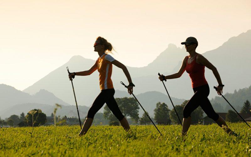 Kalorienverbrauch beim Walken in den Bergen