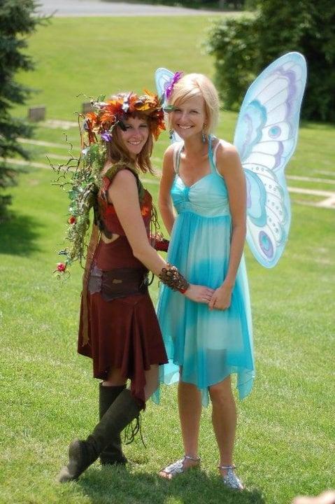 karneval gruppenkostüme frauen kostüme für zwei elfen ideen