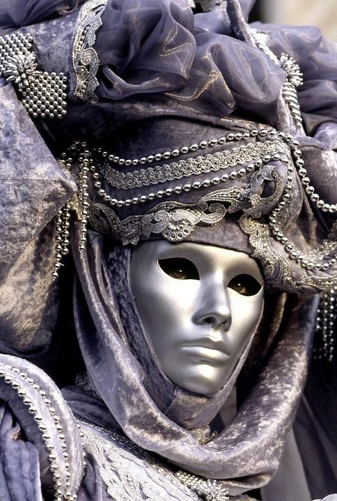 Faszinierende masken coole accesoires karneval kostüm ideen