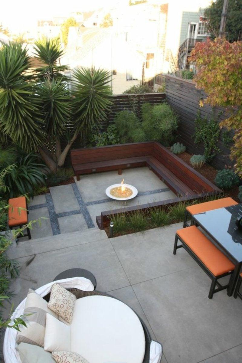 Gartengestaltung Ideen exotische Pflanzen
