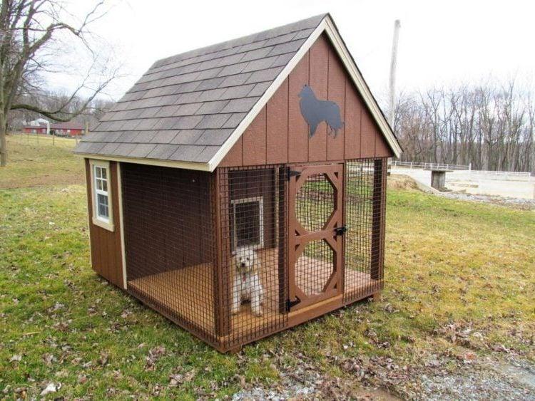 Kleinen Hundezwinger selber bauen!