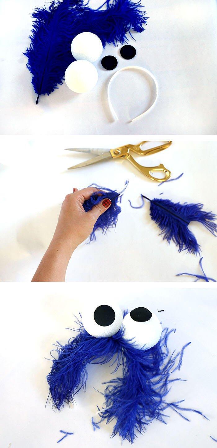 Es ist Zeit für Cookie Monster! Nur das brauchen Sie für ein DIY Kostüm