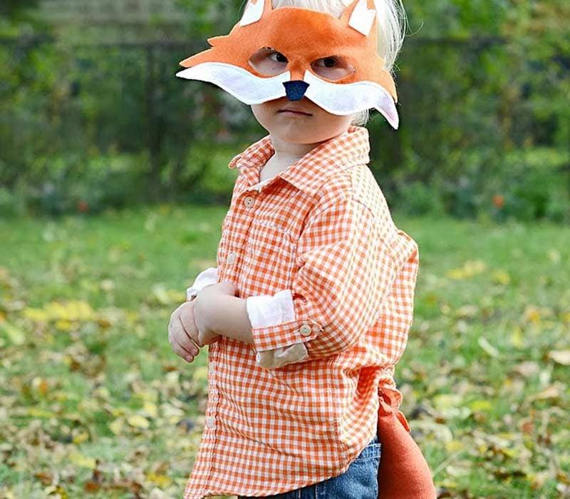 Tiermaske basteln! Nur das brauchen Sie für ein DIY Kostüm