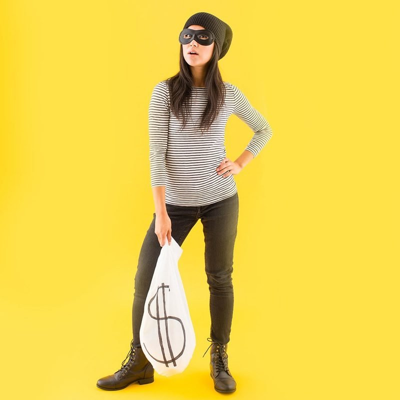 Lust auf Räuber? Ein Verbrecher Kostüm werden Sie kinderleicht selber machen
