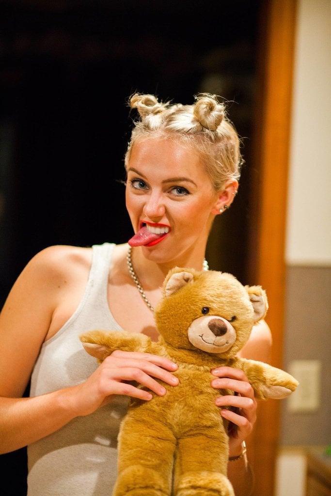 Sind Sie blond? Kostenlos werden Sie wie Miley Cyrus aussehen!