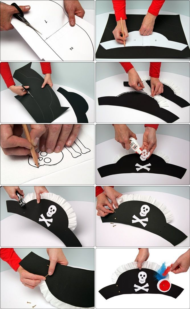 Piratenbraut Kostüm selber machen