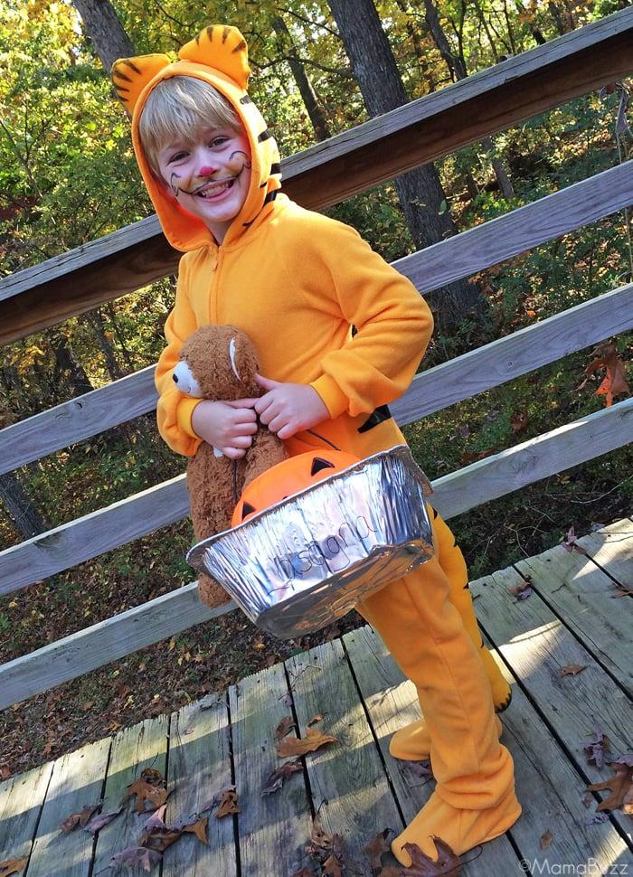DIY Garfield Kostüm nähen - kreative Idee für Klein und Groß!