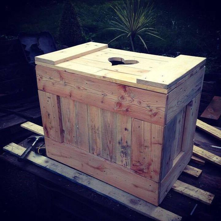 lagerkasten aus paletten palettenmöbel selber bauen