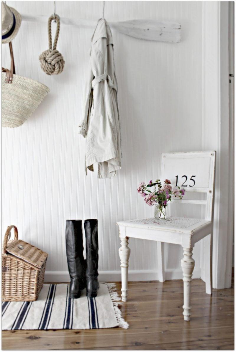 landhausstil möbel weiß stuhl holz dekoideen einrichten design