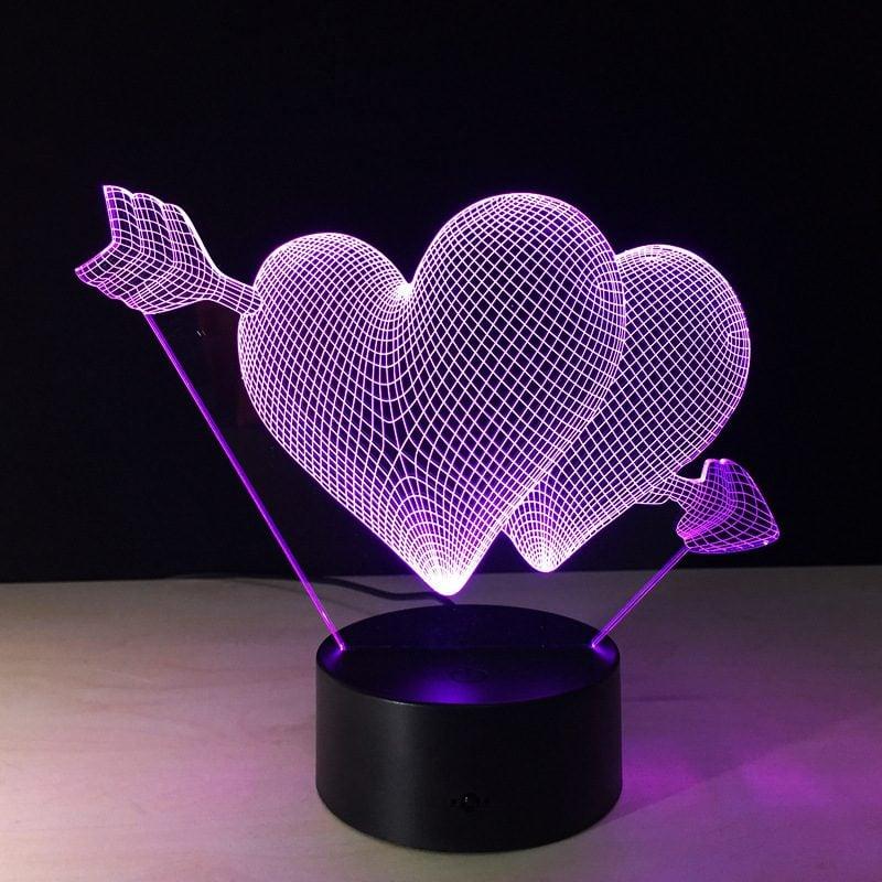 Wähle Sie diese Valentinslampe aus!
