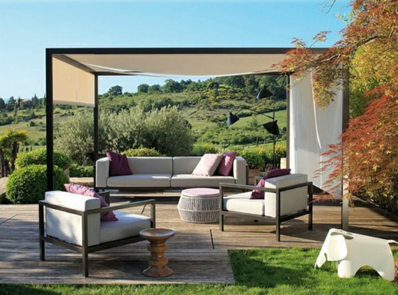 attraktive loungem bel outdoor m bel terrassen veranda zenideen. Black Bedroom Furniture Sets. Home Design Ideas