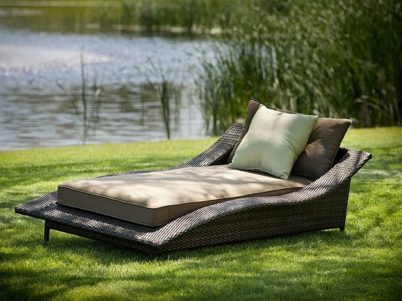 Loungemöbel Outdoor lounge bett outdoor dekoration ideen