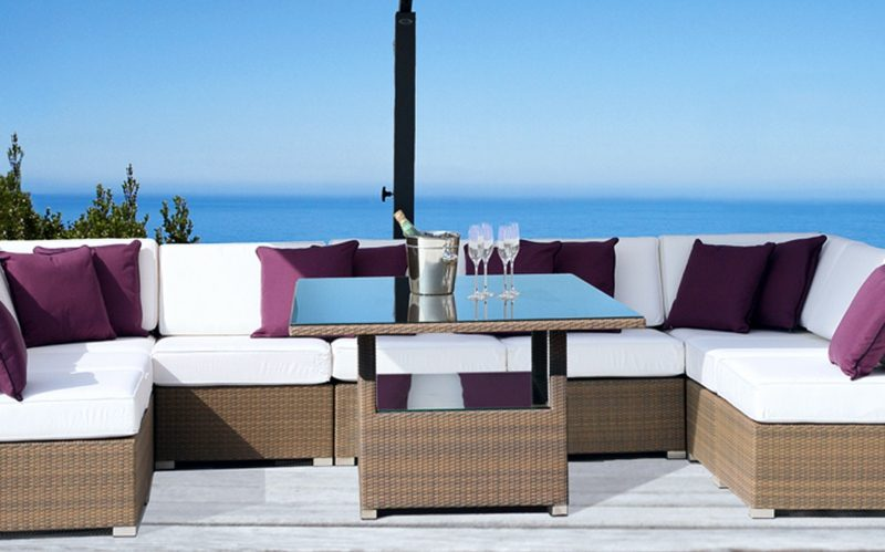 Loungemöbel Outdoor Dining Table