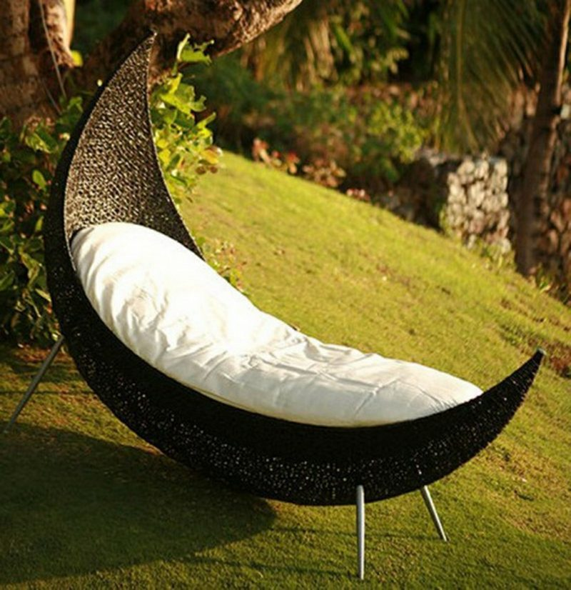 loungemöbel outdoor Wicker Chaise Lounge Chair
