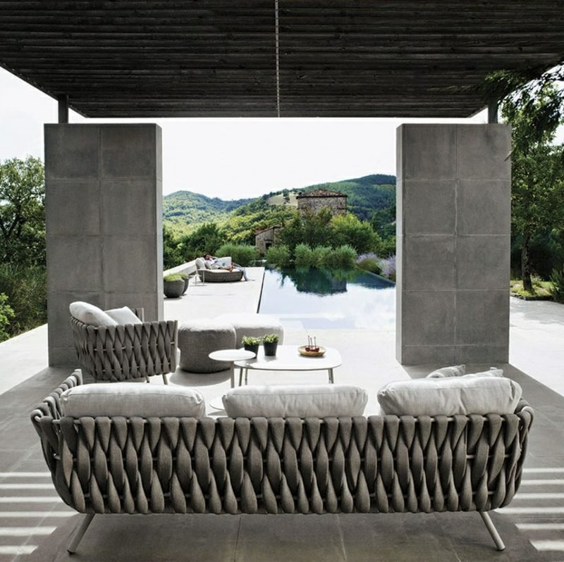 loungemöbel outdoor armchair tosca