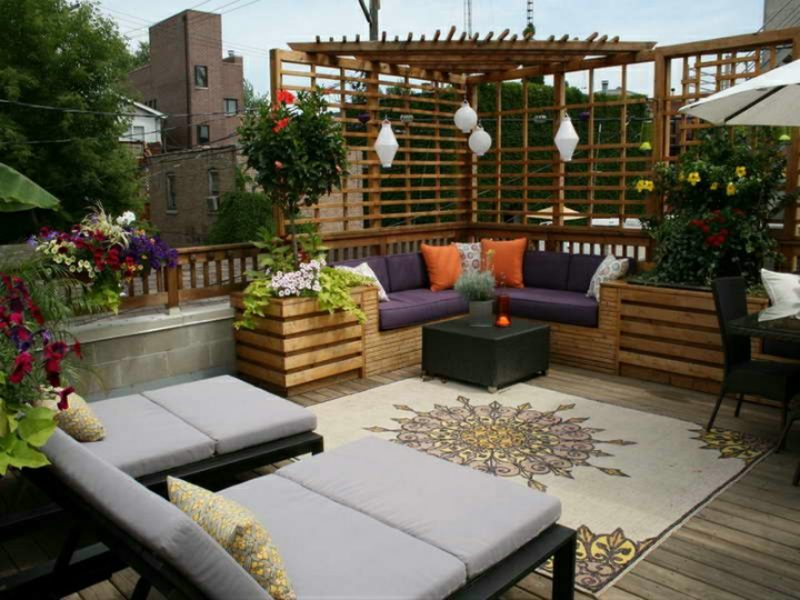 loungemöbel outdoor gemuetlich wohnen rattan couch