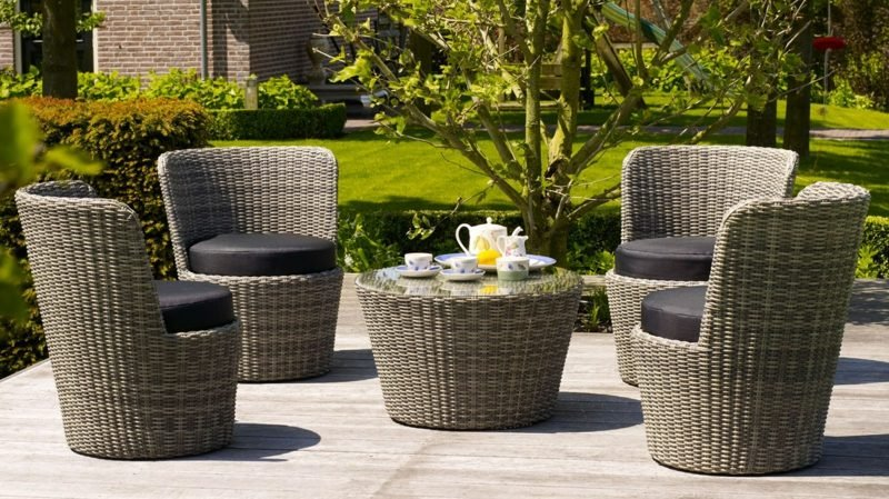 loungemöbel outdoor greywash rattan stacking artic