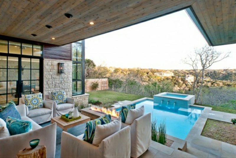 loungemöbel outdoor oase kleine eckcouch