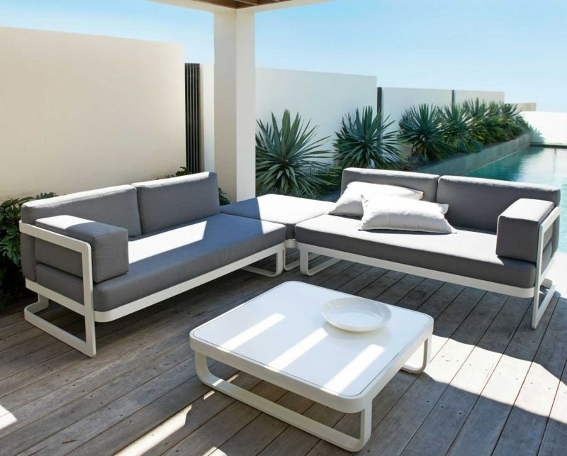 loungemöbel outdoor wohlfuehloase rattanmöbel garten