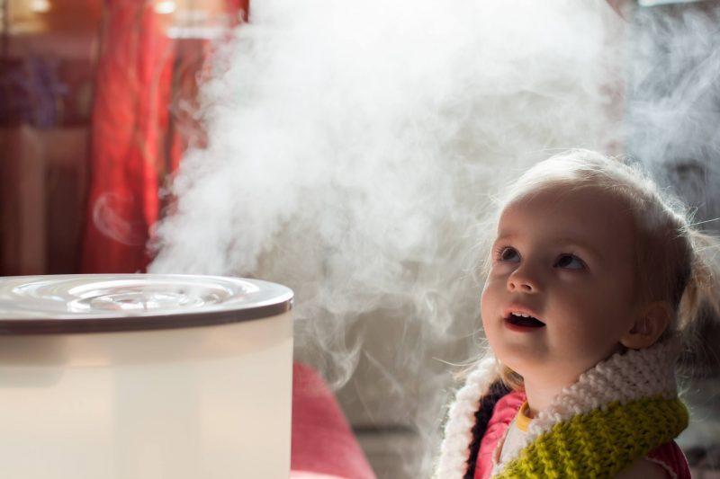 Luftbefeuchter für Babys