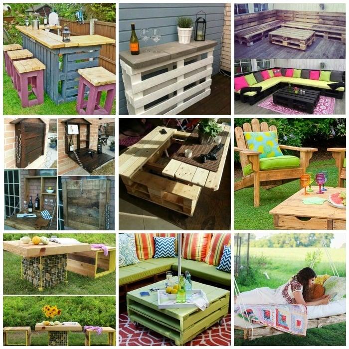 m bel aus paletten 105 fantastische ideen zum nachbauen. Black Bedroom Furniture Sets. Home Design Ideas