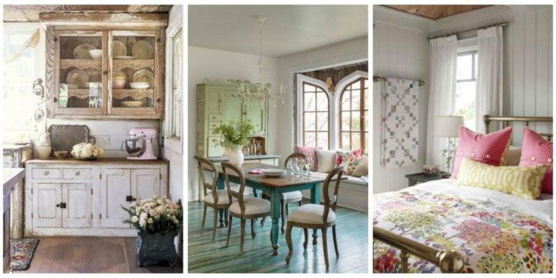 möbel landhausstil helle farben weiß kombination coole accessoires landhaus möbel schlafzimmer einrichten