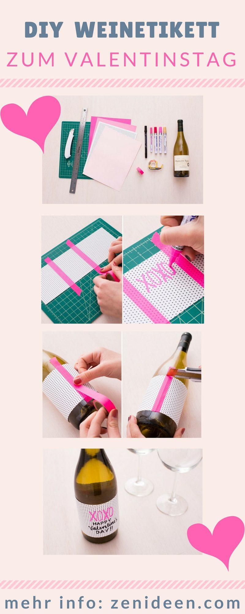 DIY Geschenke zum Valentinstag basteln