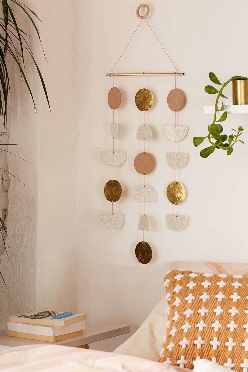 metall deko ideen wandgestaltung wohnung dekorieren diy deko