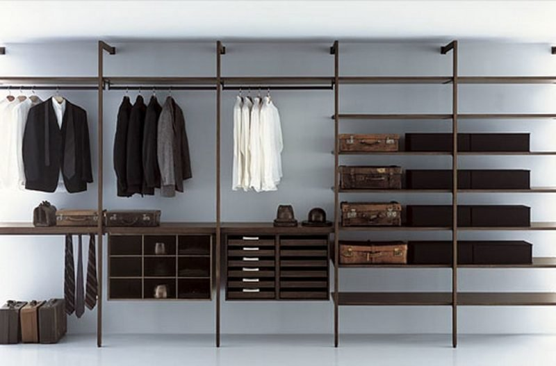 ordnung im schicken design 60 regalsysteme f r. Black Bedroom Furniture Sets. Home Design Ideas