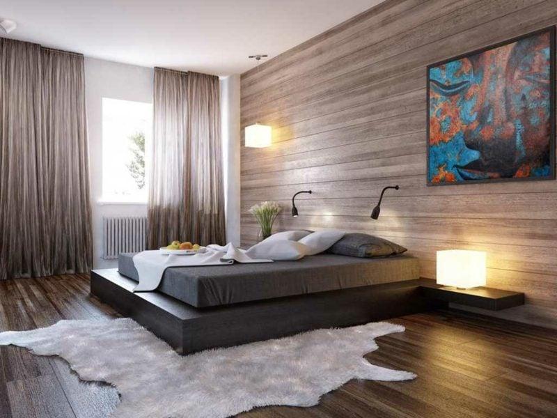 Schlafzimmer einrichten minimalistischer Stil