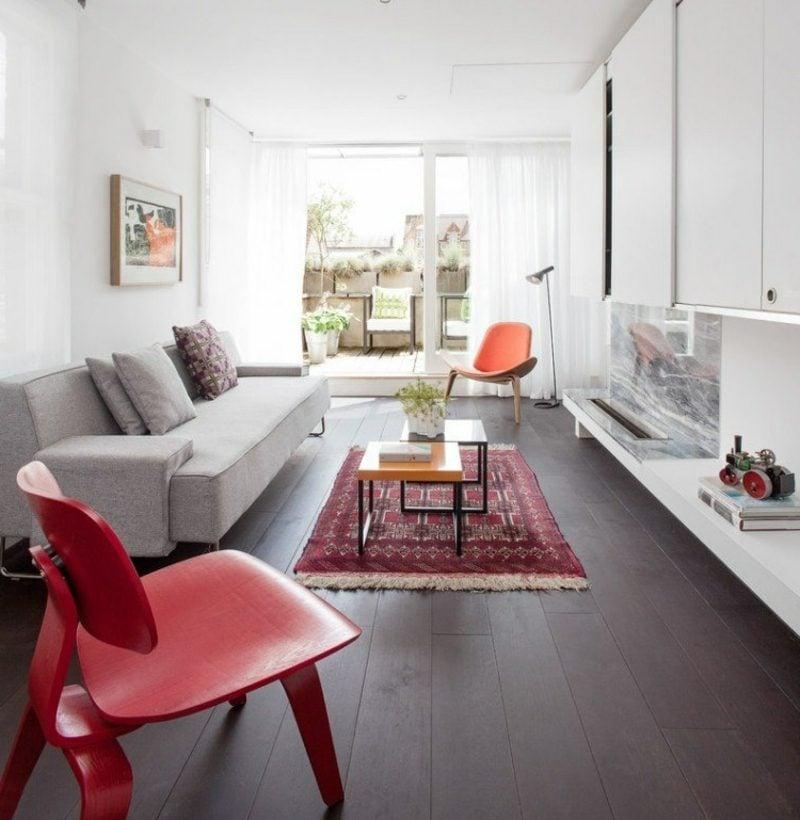orientteppich als akzent im interieur 21 beispiele. Black Bedroom Furniture Sets. Home Design Ideas