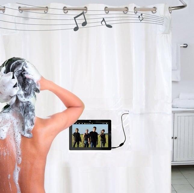 modernes bad ideen dusche technologie accessoires