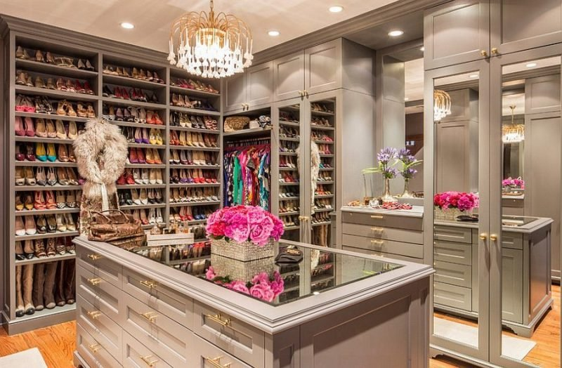 offene regalsysteme kleiderschrank schuhe luxus zu hause