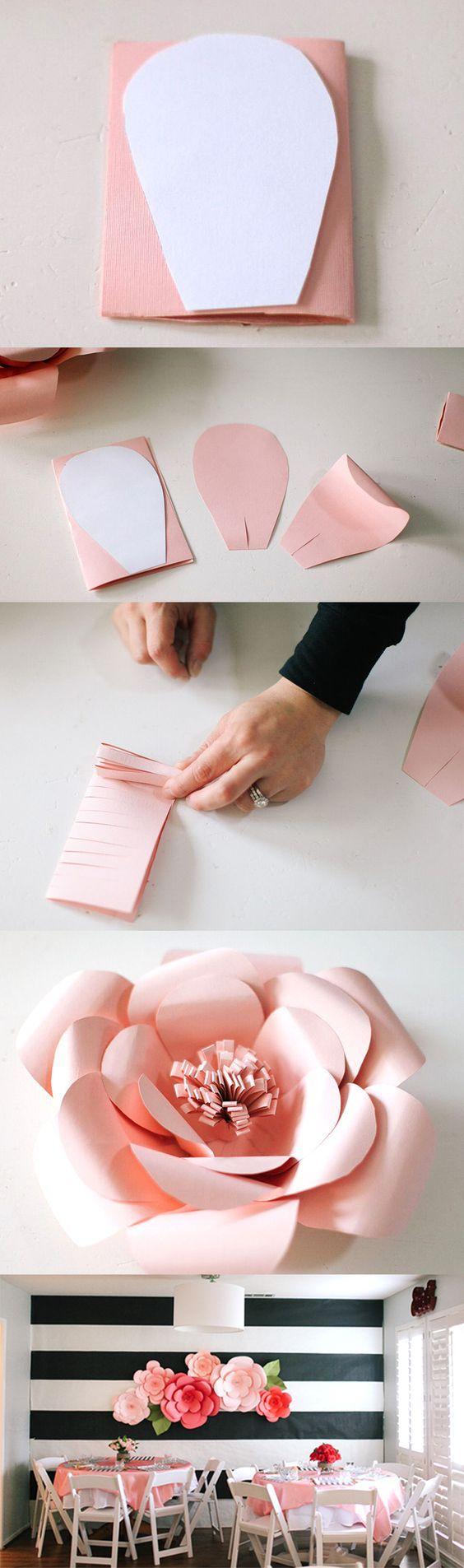 Origami Blumen als Dekoration - DIY Deko Ideen