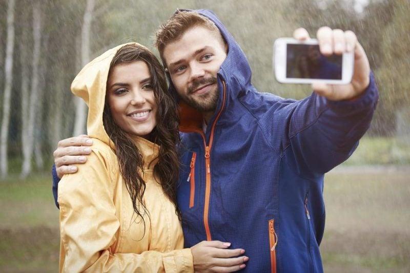 Schöne Paarfotos auch in schlechtem Wetter!