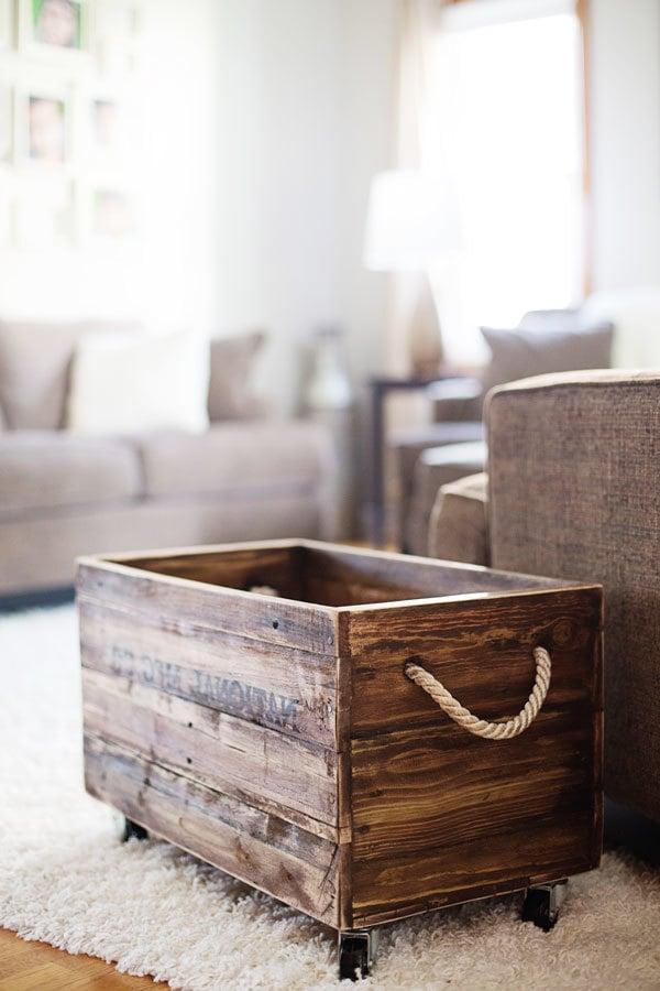 paletten kasten palettenmöbel selber bauen
