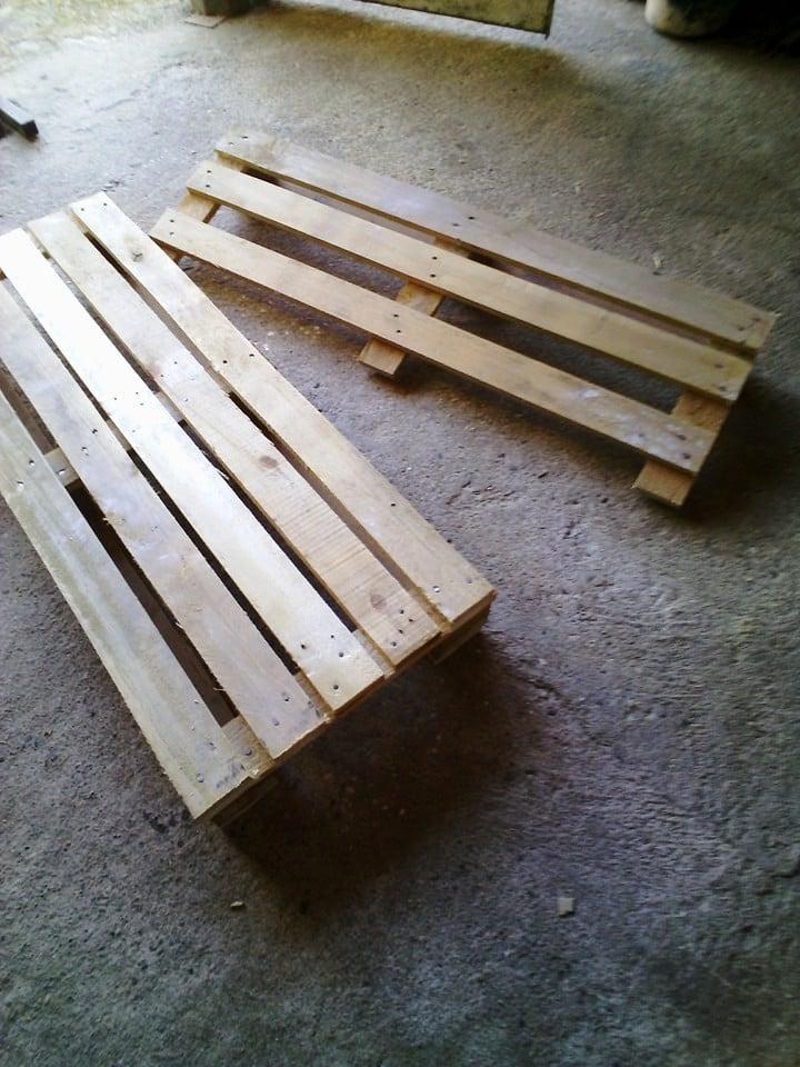 palettenmöbel bank aus paletten selber bauen schritt 4