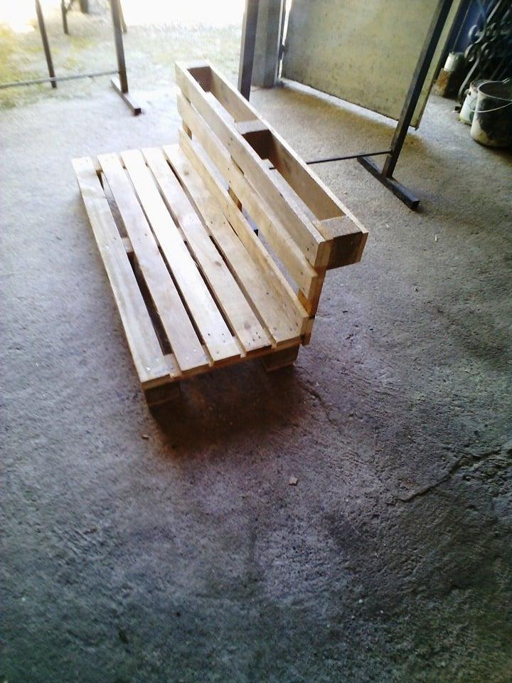 palettenmöbel bank aus paletten selber bauen schritt 6