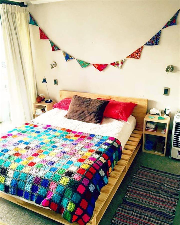palettenmöbel bett aus paletten möbel aus paletten selbe rbauen schlafzimmer einrichten